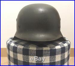 100% Original Ww2 german M42 Heer Helmet With Decal hkp66