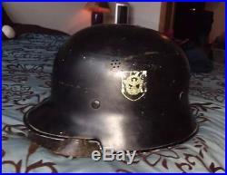1930's German Fireman's Helmet M34