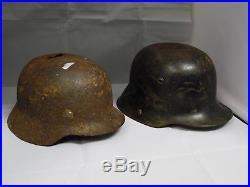 2 German Helmet WW2 Combat Helmets WWII