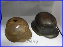 2 German Helmet WW2 (Combat Helmets) WWII
