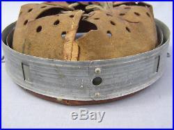#2 Original German WWII 1940 Dated Zinc Helmet Liner Size 66 Shell 58 Liner