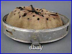#23 Original German WWII Aluminum Helmet Liner 64nA/56 Dated 1939 Post War Dyed