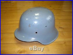 Authentic German Ww2 M42 Helmet Steel Stahlhelm Wwii Army Wehrmacht Original