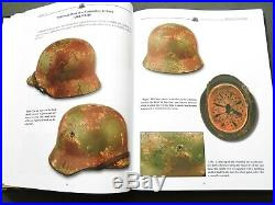 Camouflage Helmets Of The Wehrmacht Vol. 1 German Ww2 Stahlhelm Reference Book