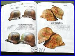 Camouflage Helmets Of The Wehrmacht Vol. 2 German Ww2 Stahlhelm Reference Book