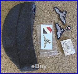 Complete Ww2 German Paratrooper Fallschirmjager Uniform Helmet Jump Smock Boots