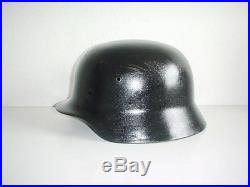 Czech reissue GERMAN ARMY WWII WW2 ORIGINAL M35 HELMET SHELL SzNS66 #627