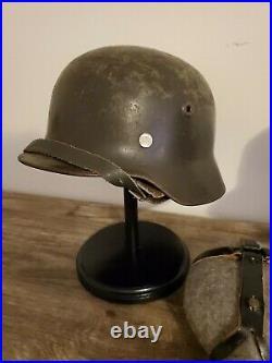 Finnish WW2 Stahlhelm Helmet Field Cap Canteen German World War 59