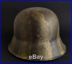 GERMAN IMPERIAL WW2 HELMET MODEL GERMANY WW2 ORIGINAL M-42 number