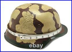 GERMAN WW2 M35 Afrika Korps Wehrmacht Helmet Free shipping from USA 1138WWS