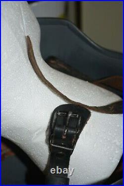 GERMAN WWII HELMET Leather Liner Chin Strap WW2
