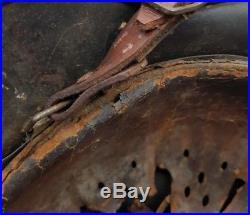 Genuine WW2 German M40 Helmet + Liner & Chinstrap Casco Casque Helm LOOK