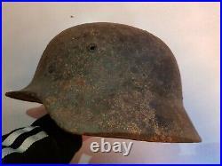 German Combat Helmet relic. Ww2 wehrmacht pioneer heer ss gebirgsjäger lw