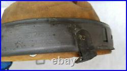 German Helmet Liner 1942 Head 54 55 Shell 62 Ww2 Stahlhelm