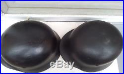 German Helmet M35 Size 66 + M40 Size Q66 Ww2 Stahlhelm Ww2