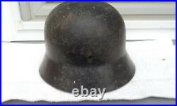 German Helmet M35 Size Ef62 Ww2 Stahlhelm