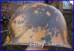 German Helmet M38 Helm Stahlhelm Ww2 Military Casque Deutscher