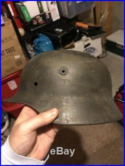 German Helmet M40 Q66 WW2