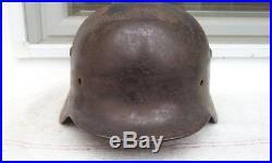 German Helmet M40 Size 62 Ww2 Stahlhelm
