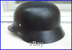 German Helmet M40 Size E. F. 68 Ww2 Stahlhelm