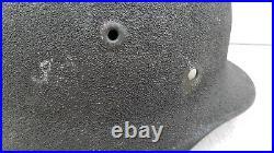 German Helmet M40 Size Q64 Camo Sand Color Ww2 Stahlhelm