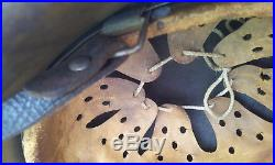 German Helmet M42 Size Ckl64 Camo Tropic Paint Complet Ww2 Stahlhelm
