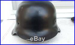 German Helmet M42 Size Ef66 Ww2 Stahlhelm
