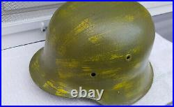 German Helmet M42 Size Et66 Ww2 Stahlhelm