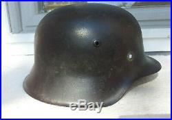 German Helmet M42 Size Hkp64 Ww2 Stahlhelm