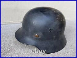 German Helmet Original Model M35 WWII
