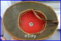 German Helmet Pith Afrika Dak Ww2 Size 58