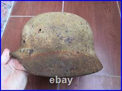 German Helmet WW2 Original WWII German Helmet Eastern front