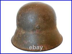 German Helmet WWII camouflage zimmerit anti reflective Panzer Division