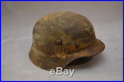 German Helmet Ww2 2 Wars Very Old