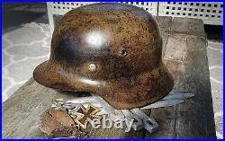 German Helmet Ww2 M42