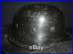 German M34 Helmet from the Messerschmitt factory WW2 WWII