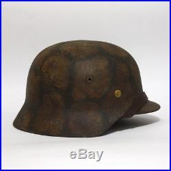 German M35 LW camouflage helmet with liner