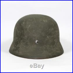 German M35 WH camouflage helmet with liner Large size