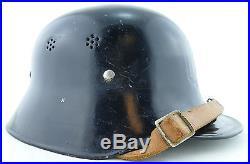 German ORIGINAL WW2 WWII Factory Protection Police (Werksschutzpolizei) Helmet