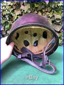 German Paratroopers Steel ET71 Helmet WW2, Reproduction