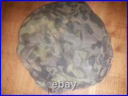 German WW2 Elite Camouflage Cover for Steel Helmet or Stahlhelm Size 62