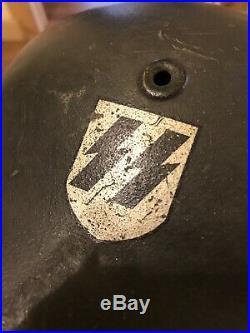 German WW2 Helmet SS