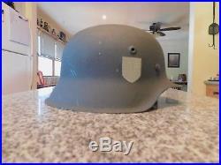 German WW2 Helmet, hkp64