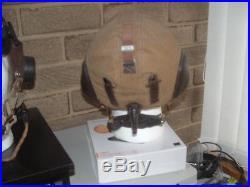 German WW2 Luffwaffe Summer Pilots/Aircrew Helmet