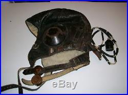 German WW2 Luftwaffe LKpW101 Winer Flight Helmet
