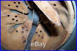 German WW2 M-35 Helmet -original WW2 finish and liner