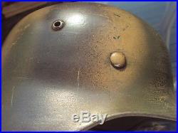 German WW2 WWII M35 Stahlhelm Helmet Normandy Camo BIG Size Q66