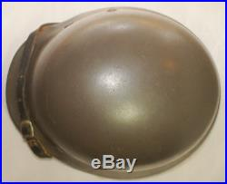 German WWII Double Decal Army Helmet Liner Chinstrap KM Heer Adler M40 M42 M35