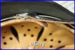 German Ww2 M40 Helmet Size 66 Shell / 58 Liner Original Et66 Restored