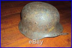 German helmet M-35, WW2